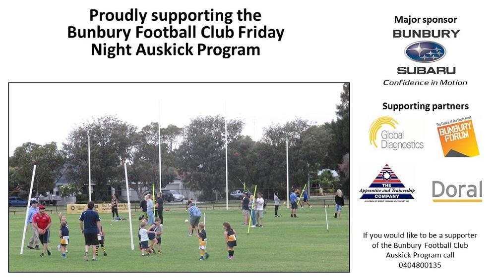 2017 Friday Night Auskick - Bunbury Bulldogs Football Club